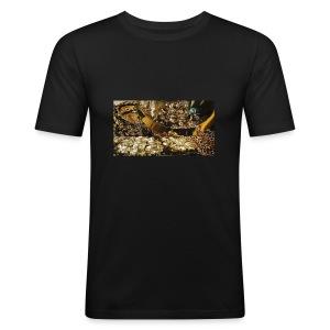 Gold - Tee shirt près du corps Homme