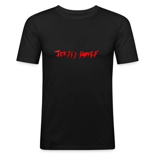 Jersey Bones Logo - Men's Slim Fit T-Shirt