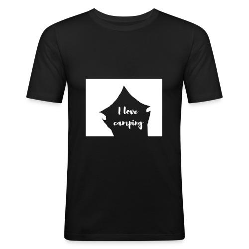 ILoveCamping - Männer Slim Fit T-Shirt