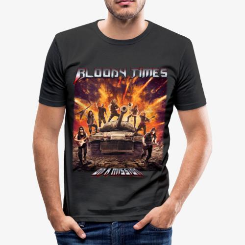 Bloody Times - On A Mission - Men's Slim Fit T-Shirt
