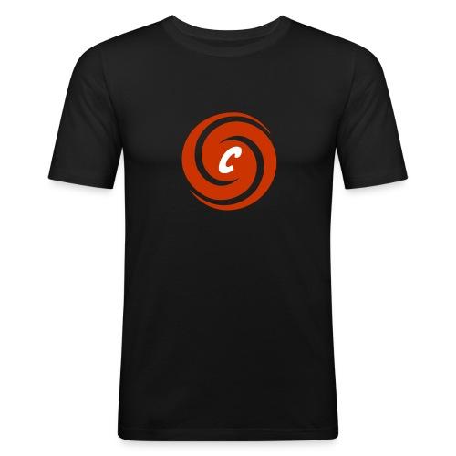 Logo Cinnox - Männer Slim Fit T-Shirt