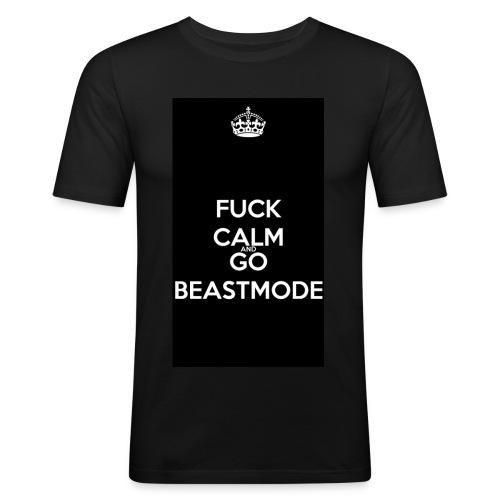Go Beast-Mode - Men's Slim Fit T-Shirt