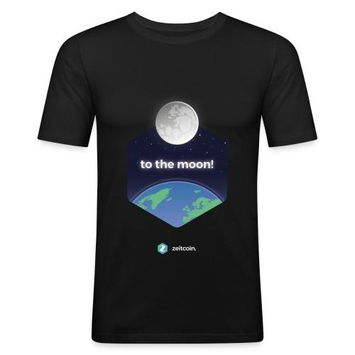 zeit earthrise - Men's Slim Fit T-Shirt