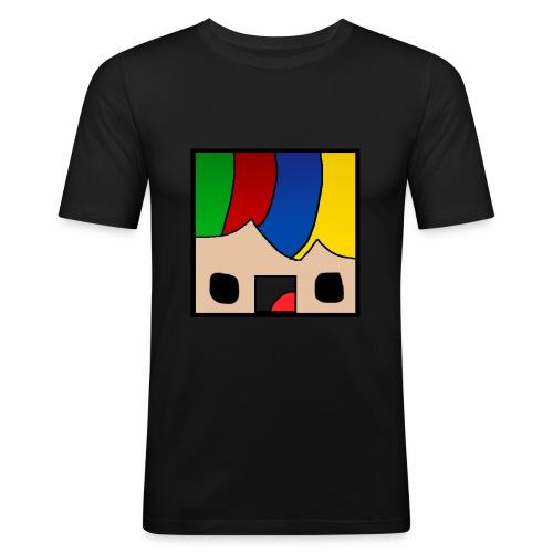 ProfSaurusCartoon - Männer Slim Fit T-Shirt