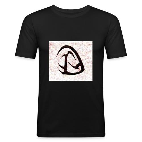 D Sangue Tribale - Maglietta aderente da uomo