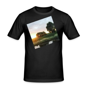 sunset - Men's Slim Fit T-Shirt