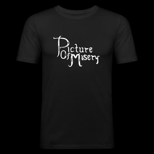 Altes Logo - Männer Slim Fit T-Shirt