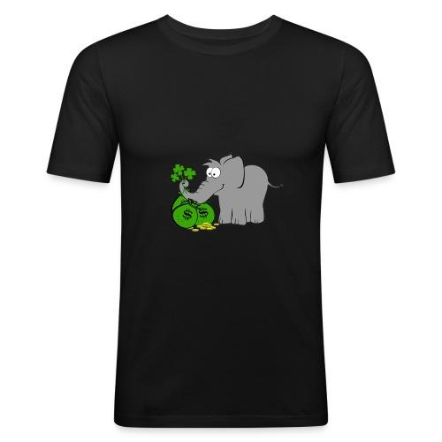 Der Gewinnofant - Männer Slim Fit T-Shirt