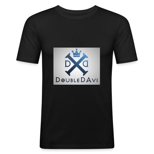DoubleDAvi X - Männer Slim Fit T-Shirt