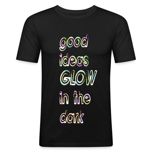 good ideas GLOW in the dark - Camiseta ajustada hombre