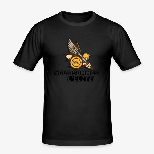 LE VRAI DARON - T-shirt près du corps Homme