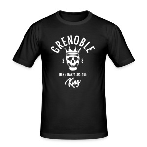 grenoble narvalo - Tee shirt près du corps Homme