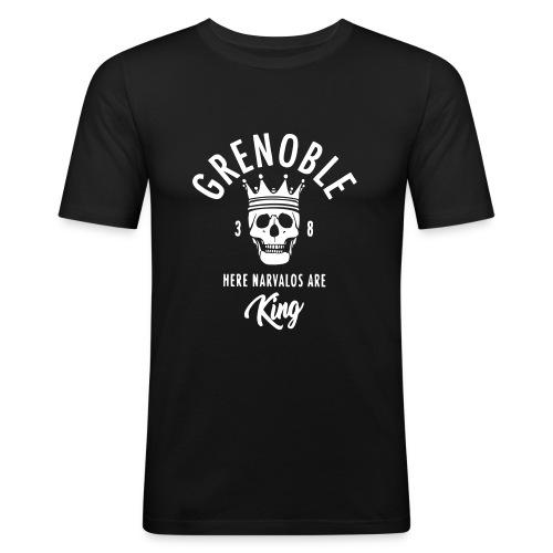 grenoble narvalo - T-shirt près du corps Homme