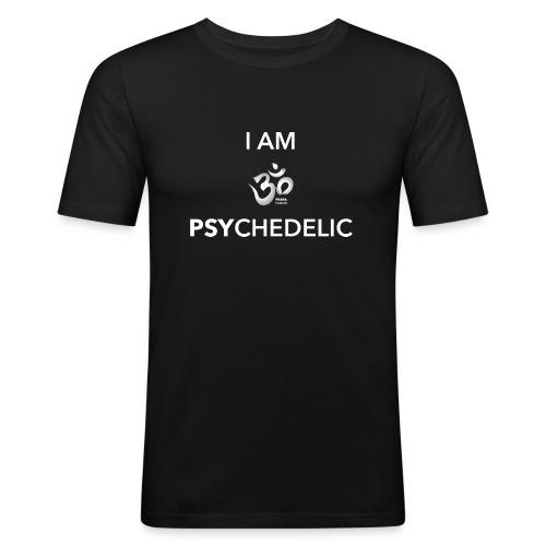I AM PSYCHEDELIC - Men's Slim Fit T-Shirt
