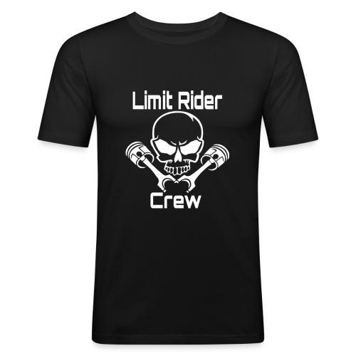 Pully-Format_hinten_Shop - Männer Slim Fit T-Shirt