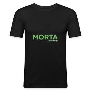 MORTA - Maglietta aderente da uomo