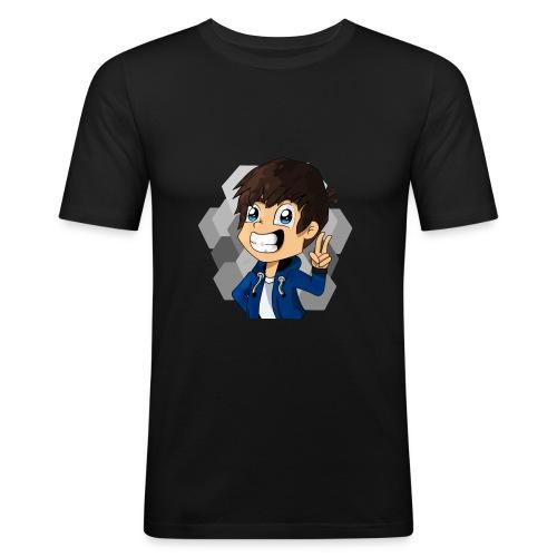 TheZame Minecraft Skin Handgezeichnet - Männer Slim Fit T-Shirt