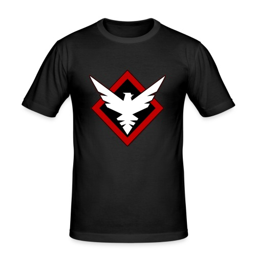 VirtuaL Merchandise - Männer Slim Fit T-Shirt