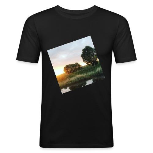 sunset - Men's Slim Fit T-Shirt