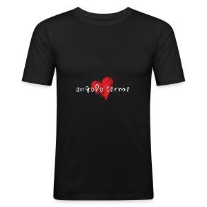 Amo Angolo Terme - Maglietta aderente da uomo