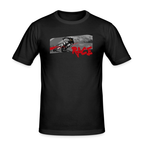 RACE LINE tee - Men's Slim Fit T-Shirt