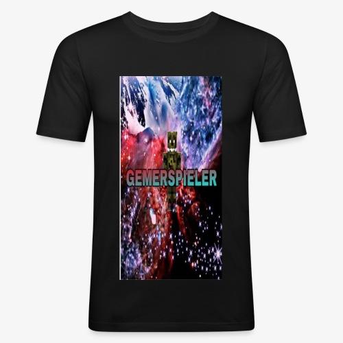 Gemerspieler Design - Männer Slim Fit T-Shirt
