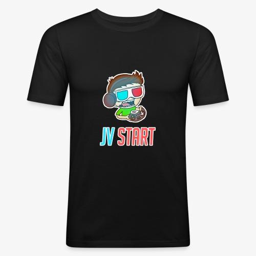 JVSTART Logo principal - T-shirt près du corps Homme