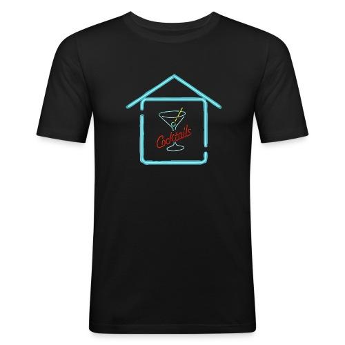CocktailHouse3 - Maglietta aderente da uomo