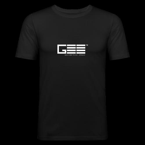 GEE™ Logo - 2018 - Männer Slim Fit T-Shirt