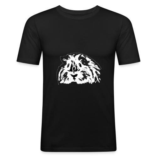 Meerschweinchen als Sein - Männer Slim Fit T-Shirt
