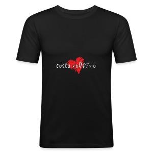 Amo Costa Volpino - Maglietta aderente da uomo