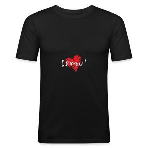 Amo Temù - Maglietta aderente da uomo