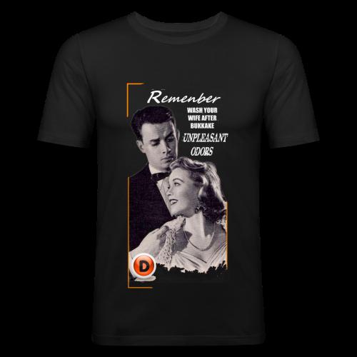vintage advice - T-shirt près du corps Homme