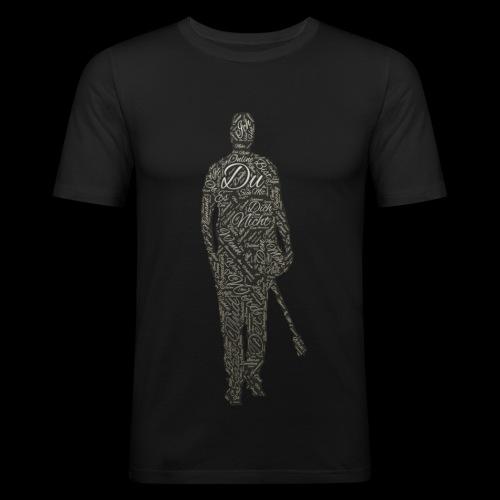 sascha - Männer Slim Fit T-Shirt