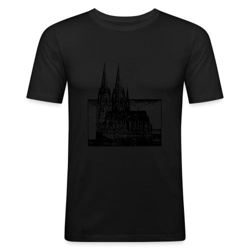 Domstadt - Männer Slim Fit T-Shirt
