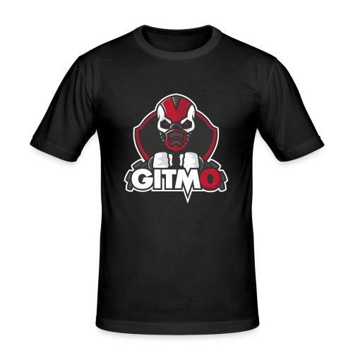 Gitm0 - Slim Fit T-shirt herr