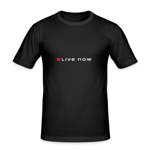 Start Living Now - Obcisła koszulka męska