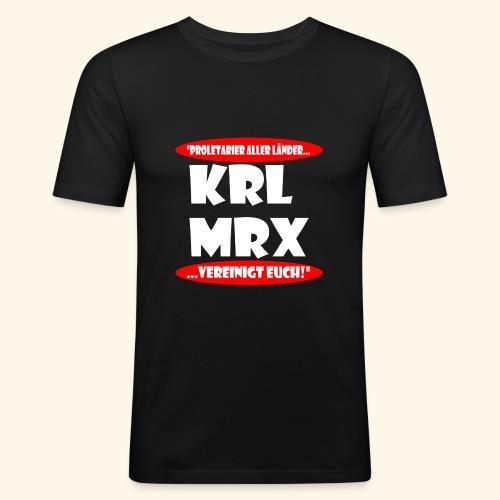Karl Marx - Männer Slim Fit T-Shirt