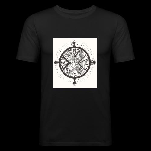 La Maison Des Mains Angel Cove - Men's Slim Fit T-Shirt