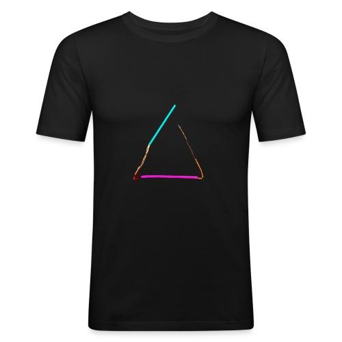 3eck - Dreieck - triangle - Männer Slim Fit T-Shirt