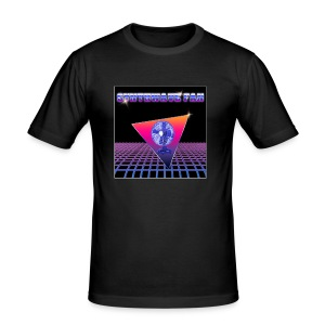 Synthewave fan - Men's Slim Fit T-Shirt