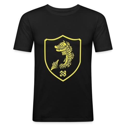 grenoble, dauphin blason 38 - T-shirt près du corps Homme