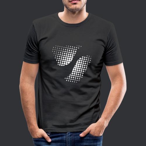 SPIKE Dots - Männer Slim Fit T-Shirt
