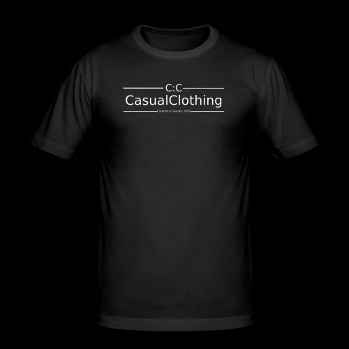 CC created in Sweden 2016 - Slim Fit T-shirt herr