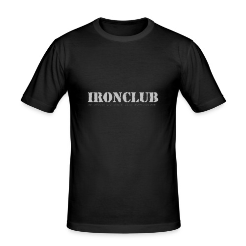 IRONCLUB - a way of life for everyone - Slim Fit T-skjorte for menn