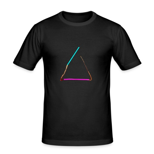 3eck - Dreieck - triangle - Männer Slim Fit T-Shirt