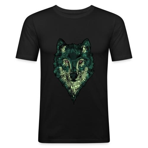 Ulv - Slim Fit T-skjorte for menn