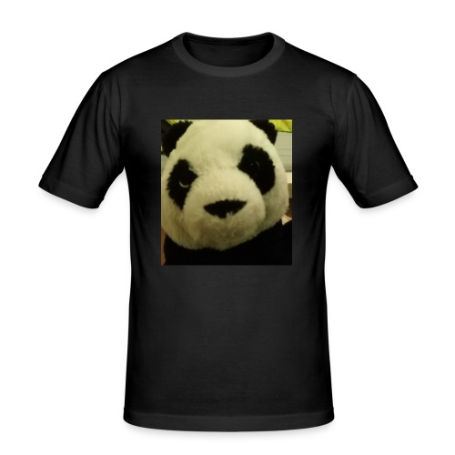 panda - Männer Slim Fit T-Shirt