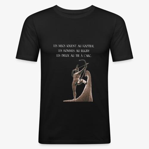 dieu du tir à l'arc - T-shirt près du corps Homme