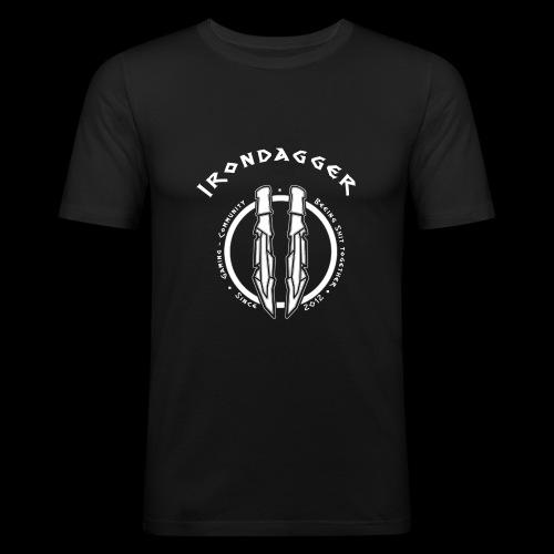 Iron Dagger Modern - Männer Slim Fit T-Shirt